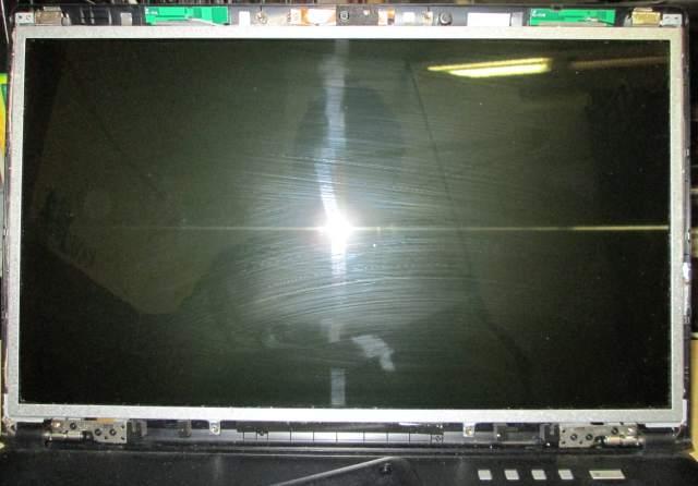 Laptop scherm zonder voorkant.