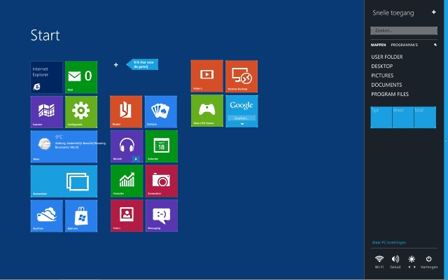 Windows 8 look.