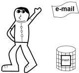Wegwerp E-mail.