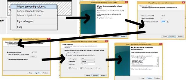 partitioneren formateren