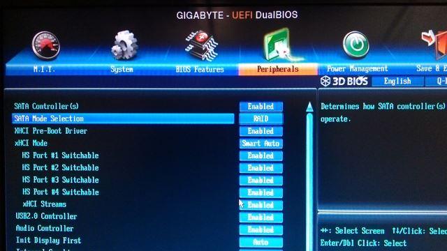 RAID BIOS
