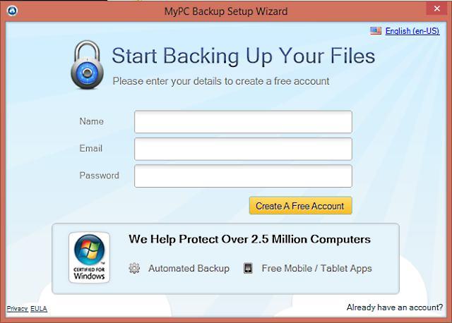 MyPC Backup van JDI Backup Ltd - Decomputer.be