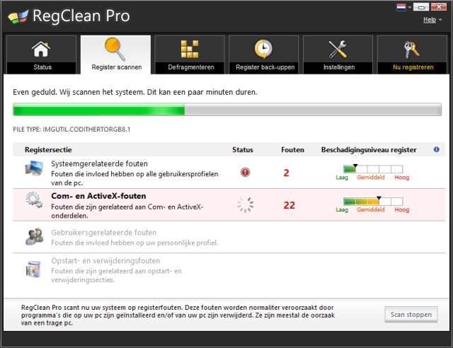 Regclean Pro van Systweak