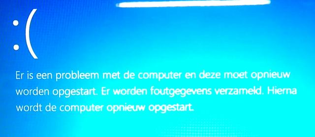 Window 8 blue screen