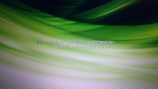 Configuratie van Windows voorbereiden