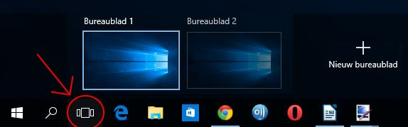 Windows 10 extra bureaublad
