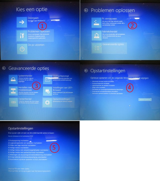 windows 8 in veilige modus starten