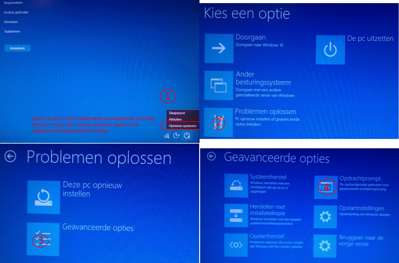 hoe lang duurt upgrade windows 10