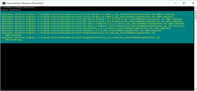 Microsoft Edge reageert niet herstellen via powershell