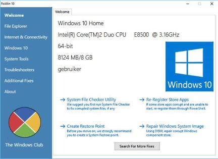 Windows 10 problemen oplossen