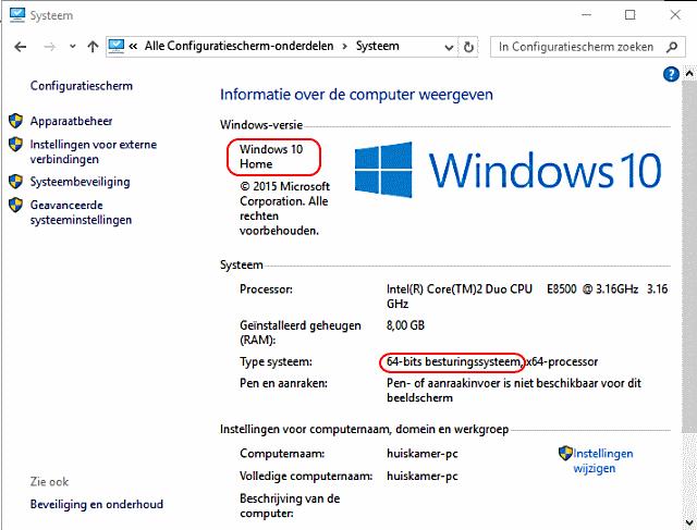 Welke Windows heb ik