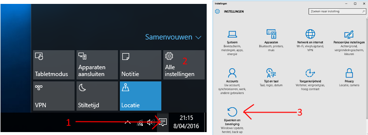 Windows 10 updaten