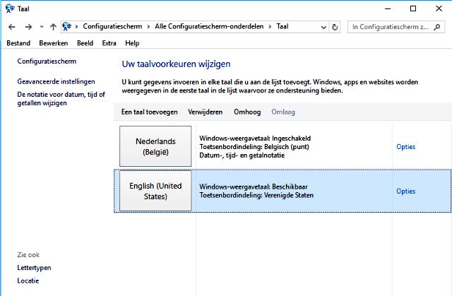 Windows 10 veranderen