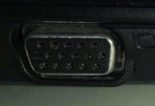 VGA aansluiting
