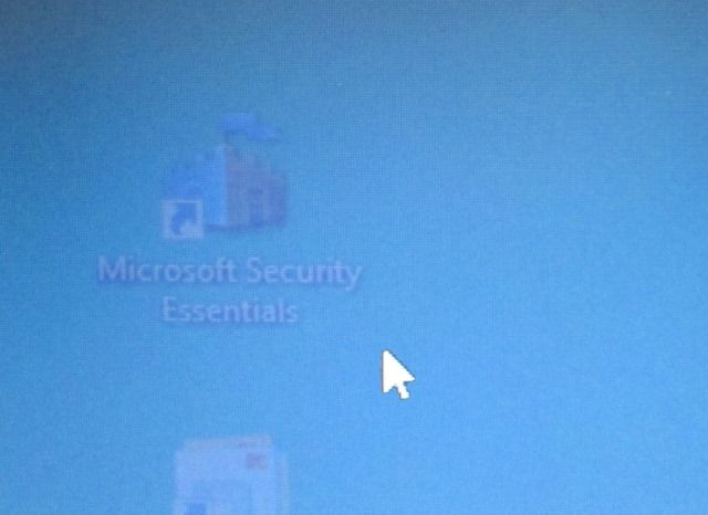 Onscherp laptop scherm.