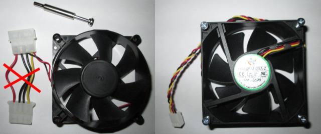 2 soorten PC fans.