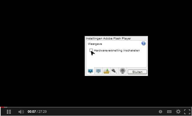 Youtube enkel geluid