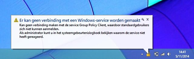 service group policy
