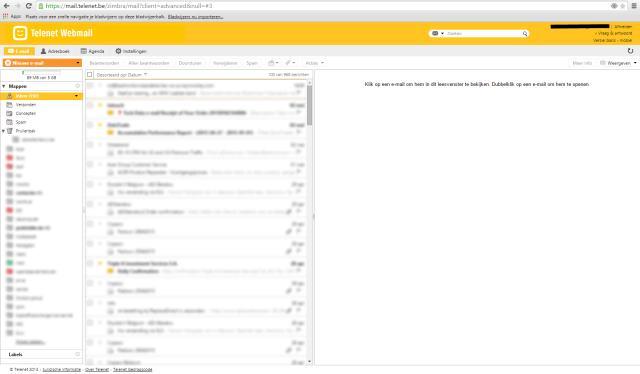 Telenet webmail