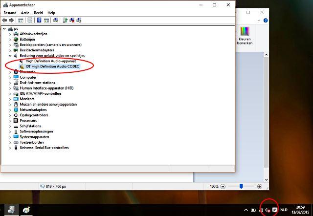 Windows 10 IDT High Definition Audio CODEC
