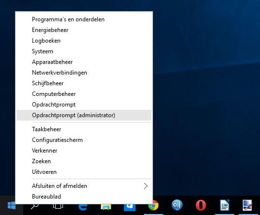 Windows 10 geavanceerde instellingen