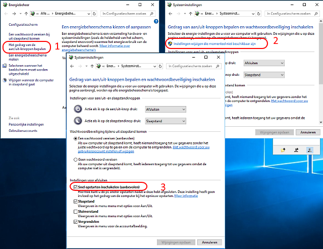 Windows 10 sneller starten